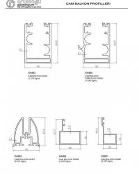 Cam Balkon Profilleri
