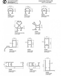 Duşakabin Profilleri(Softline Seri)