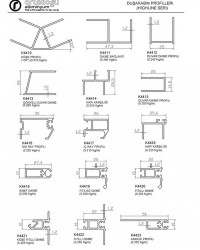 Duşakabin Profilleri(Highline Seri)